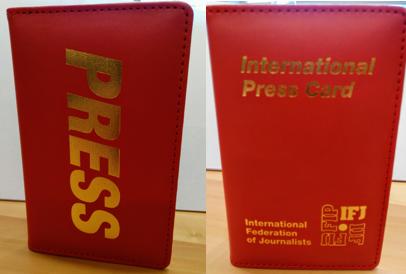 Internationale perskaart