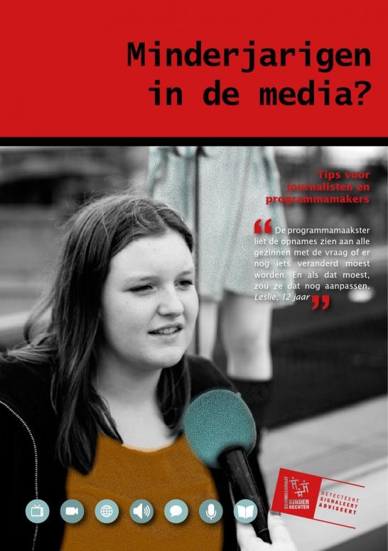 Minderjarigen in de media